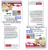 Food Management System (FMS) Recipe based food labelling